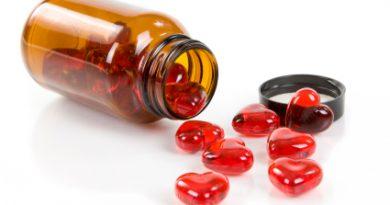 Heart shaped pills.