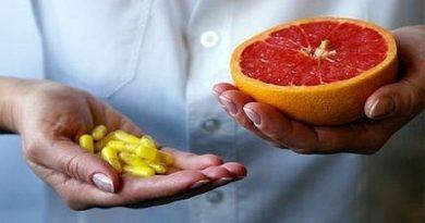 Grapefruit pills